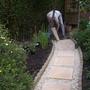 Ken laying new paths