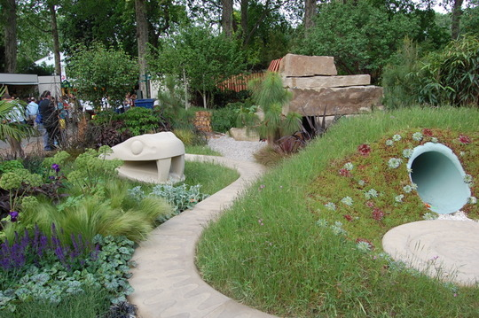 Children's garden at Chelsea