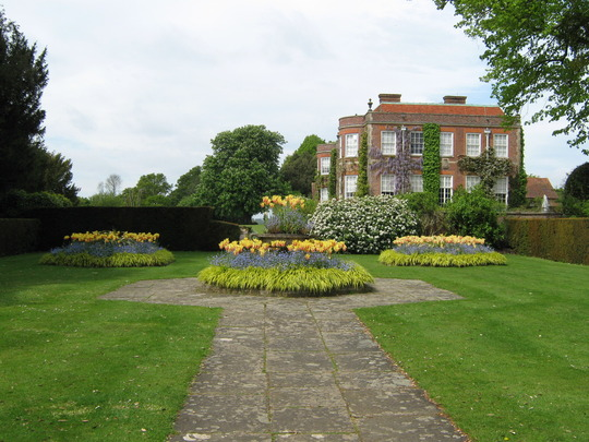 Hinton Ampner Side view