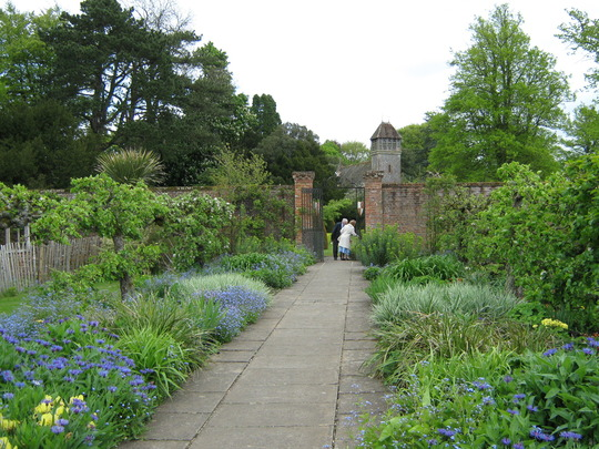 Hinton Ampner Walled Garden