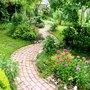 Garden path last May