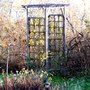 Garden Arch with winter jasmine