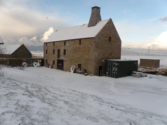 working mill at Birsay