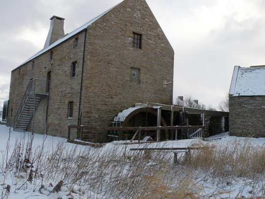 birsay mill water wheel
