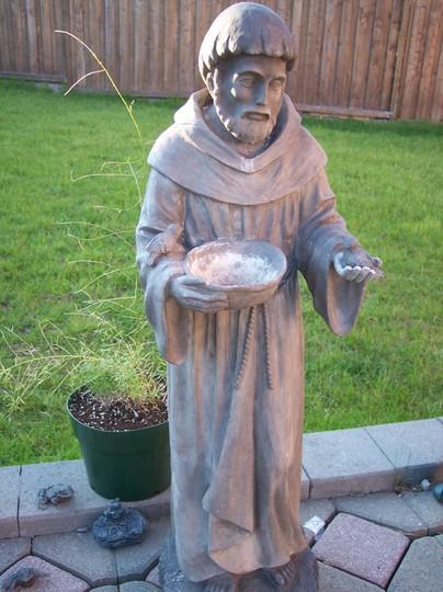 St.Francis statue