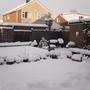 back garden snow dec1st