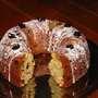 Winter fruits ring cake