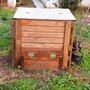 handmade compost bin