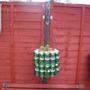 recycled hanging basket