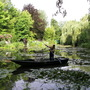 Boatman on Monet's Lilypond - for Lulu