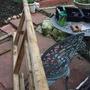 making a garden arch