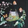 Garden embroidery