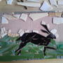 Mosaic hare 2
