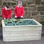 Raised Bed Gardening with a twist!!