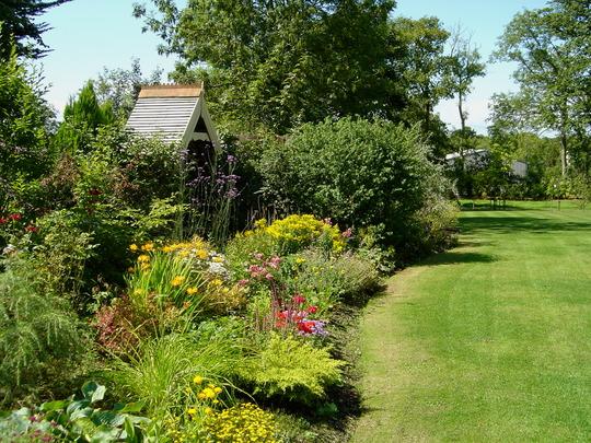 Back garden 2003