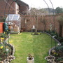my back garden now looking ready for spring and new life