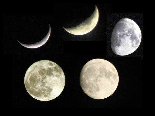 Moon sequence