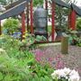 """Buddhas & Bagpipes"" show garden, Gardening Scotland 2008"