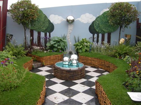 """Garden of Illusions"" show garden, Gardening Scotland 2008"