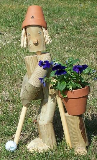 Flowerpot Golfer
