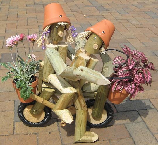 Biking Twosome
