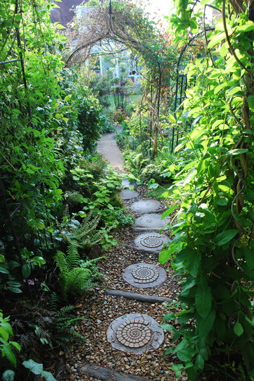 Down the garden path......