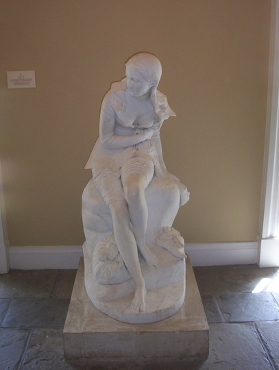 Statue at Bowood - for Sticki