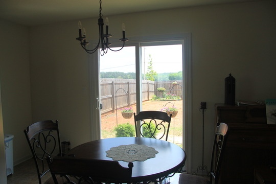 Dining room view 2011