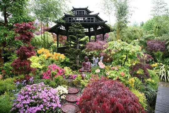 Buddha and Pagoda - May