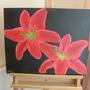 Stargazer_lily_painting_007