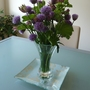 In a vase...