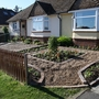 The Front Garden - Planted