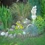 .Left corner of back garden 2008
