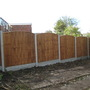 New Wooden fencing