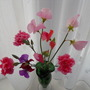 Sweetpea's and Pinks from my garden