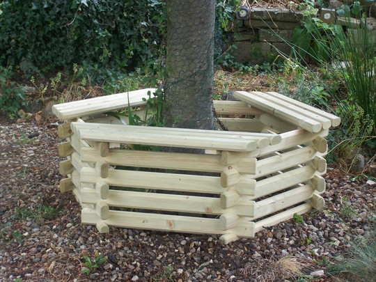 New Tree Seat - Before