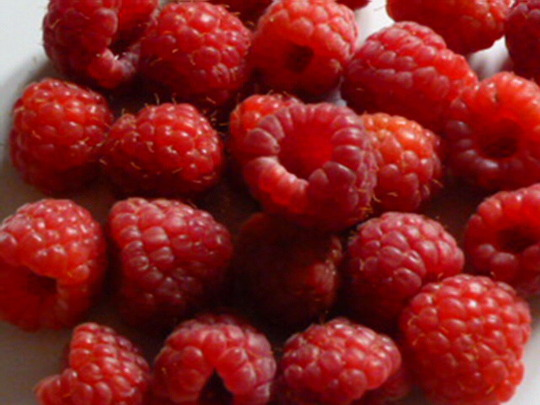 First Raspberries ready in the garden today !