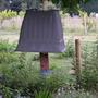 Home made squirrel proof bird feeder