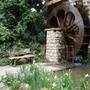 Water wheel garden...