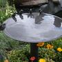 Charming birdbath..