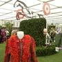 Jockey shirt floral display..