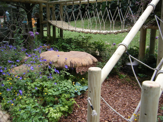 Childrens hideaway...Chelsea flower show 2011