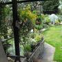 View down the garden....