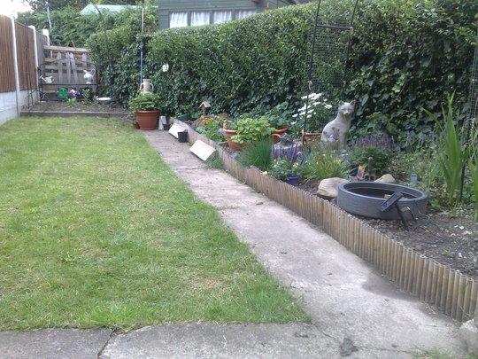 garden after....