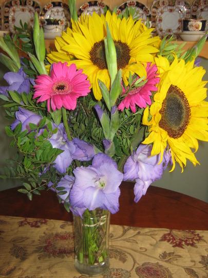 Mums beautiful bouquet
