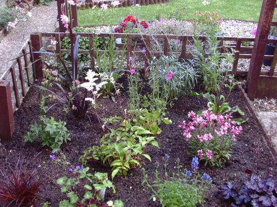 revamp on part of back garden