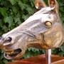 Horse's Head in Oak