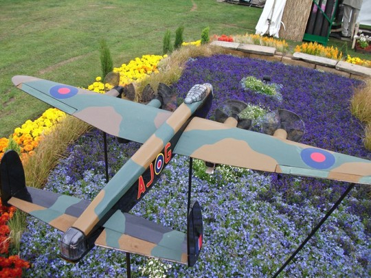 Dam Busters Flower Bed