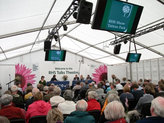 recording of Radio 4's Gardeners Question Time