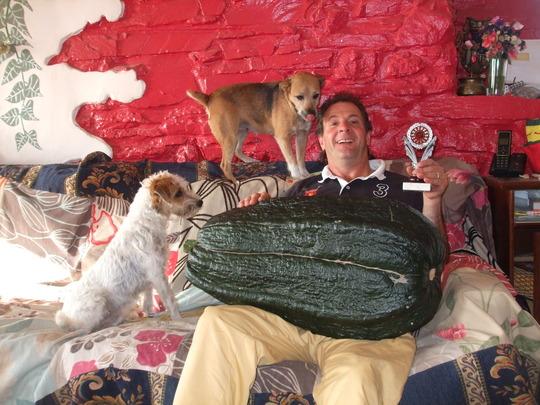 blodwyn ruby Julian and the 50 lb marrow..